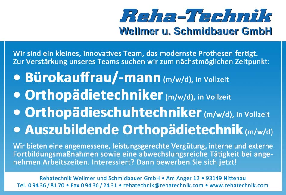 Rehatechnik Wellmer u. Schmidbauer