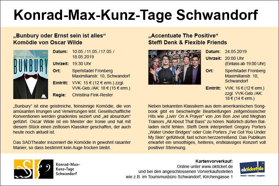 Konrad-Max-Kunz-Tage 2019