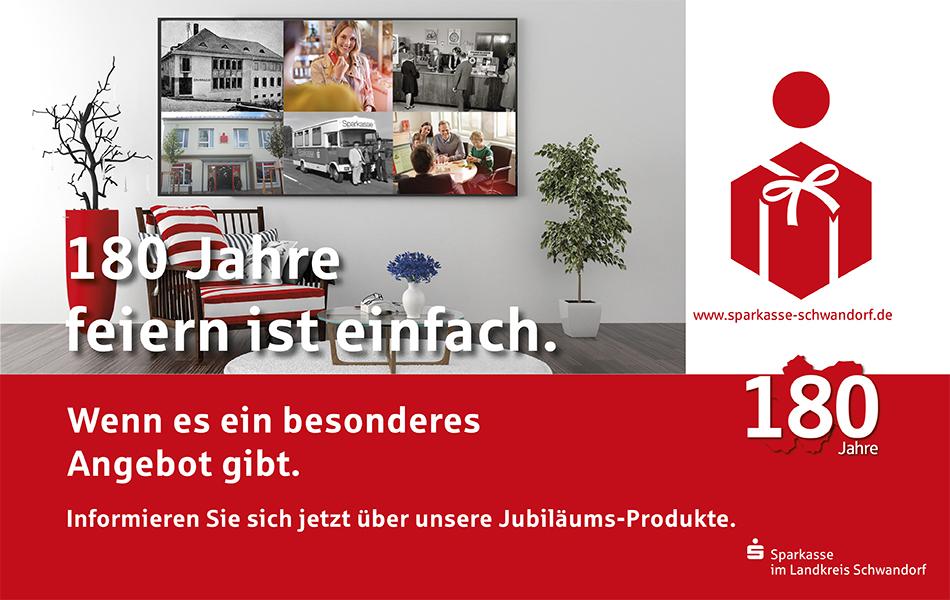 Sparkasse: Jubiläumsangebote