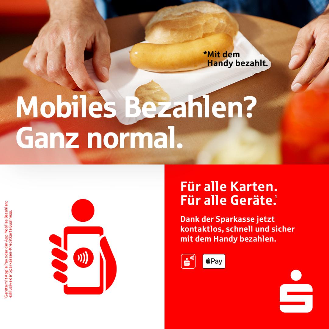 Die Sparkasse - mobiles Bezahlen